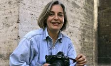 AP journalist Anja Niedringhaus who was killed in Afghanistan